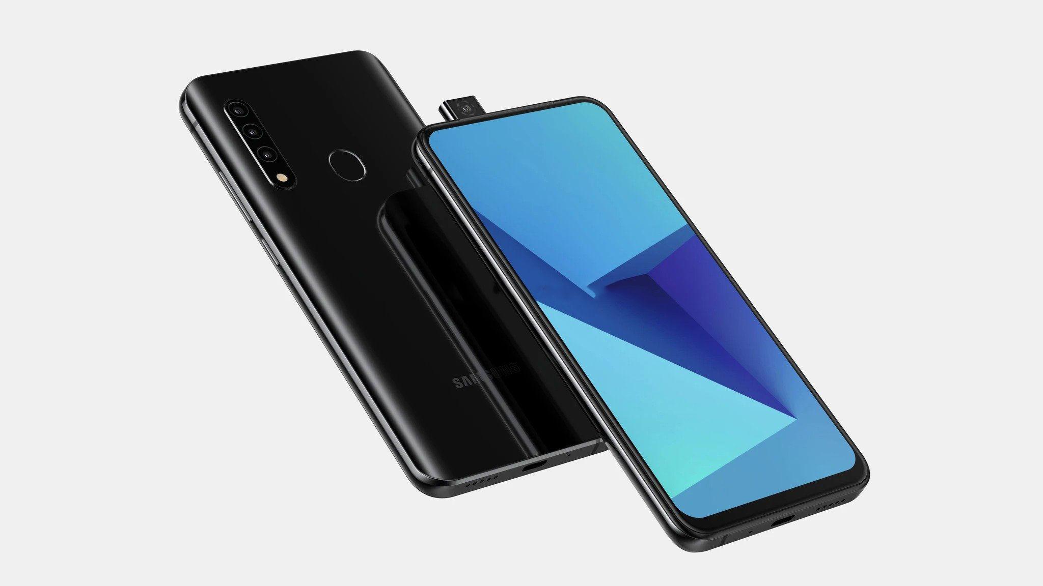 Un smartphone avec une caméra pop-up pour Samsung ?